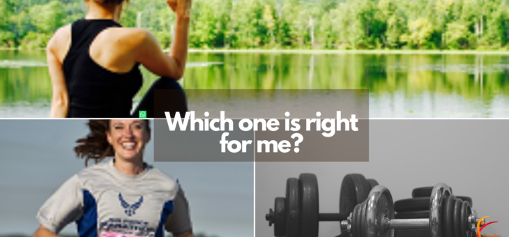 Which kind of exercise is right for you?